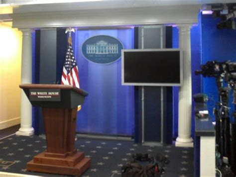 Press Room by Pix Visiting The White House Only So Much Can Be Said
