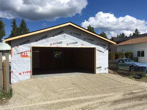Detached Garage Renovation the potter detached garage renovation geoffs contracting