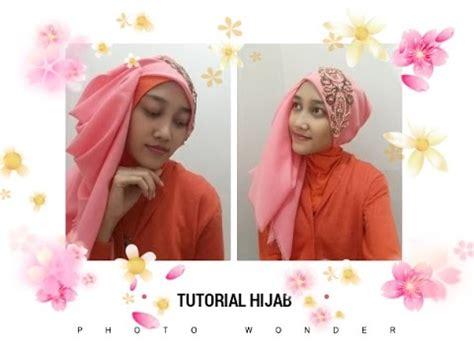 tutorial hijab wisuda youtube tutorial hijab segiempat layer wisuda pesta umama