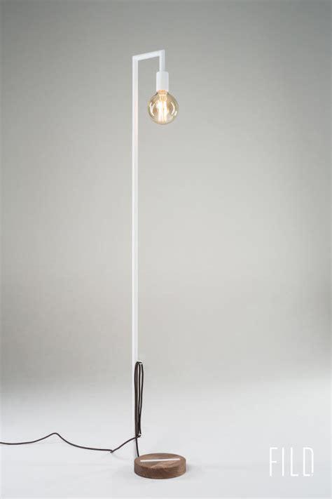 white floor lamp base