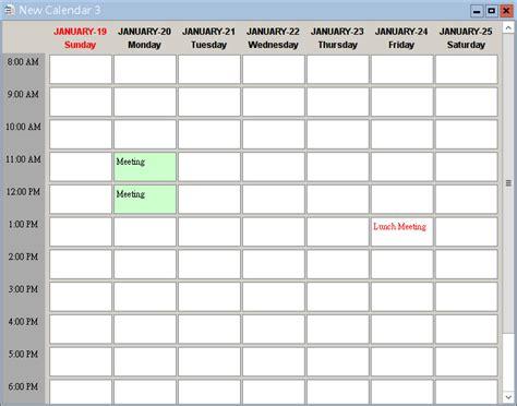smart calendar software prepare  generate  event calendar
