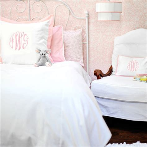 white kids bed white pique kids bedding set in pink by new arrivals inc