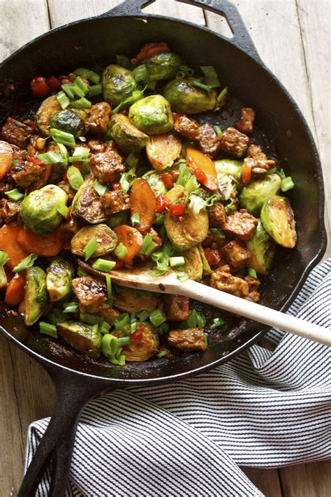 brussels sprouts recipes vegetarian 10 recipes to spice up tempeh