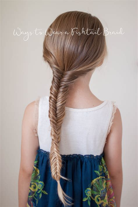 fishtail braid pictures ways to wear a fishtail braid cute girls hairstyles