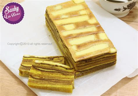 Lapis Legit Chelsea Setengah Loyang lapis legit keju sashy kitchen home cooking and food traveller