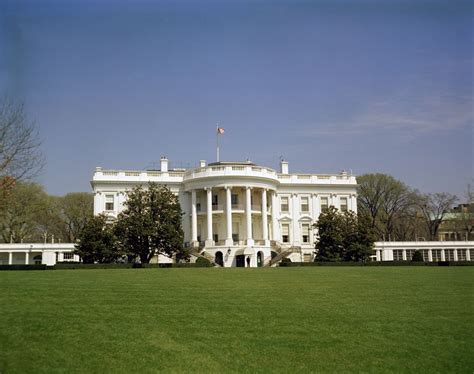 white homes white house exteriors south front john f kennedy