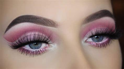 Cut Pink pink cut crease eye makeup tutorial