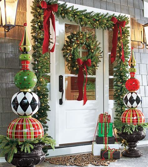 christmas decor 95 amazing outdoor christmas decorations digsdigs