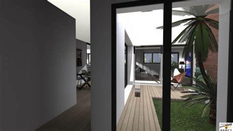 plan de maison avec patio maison de ville avec patio