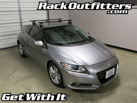 Honda Crz Roof Rack by Honda Cr Z W O Roof Adapter Thule Traverse Square