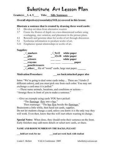 substitute lesson plans template 17 best images about sub lessons on