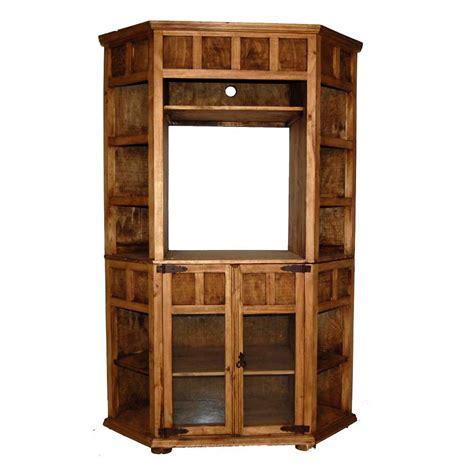 rustic corner bookcase million dollar 09 5 corner tv bookcase rustic atg stores