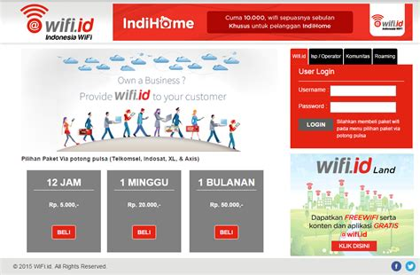 Paket Wifi Id Unlimited cara internetan wifi id dengan telkomsel xl axis dan indosat ridvan maulana