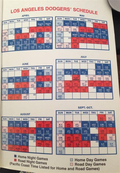 dodgers tv schedule now and then true blue la