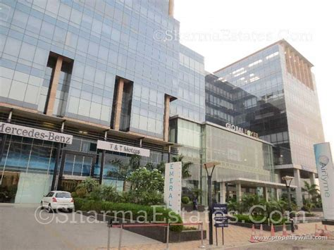 global foyer gurgaon office space for rent in global foyer golf course road