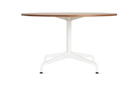 Marble Dining Room Tables Eames Table With Round Top And Segmented Base Herman Miller