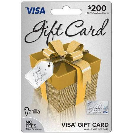 List Of Gift Cards Sold At Walmart - visa 200 gift card walmart com