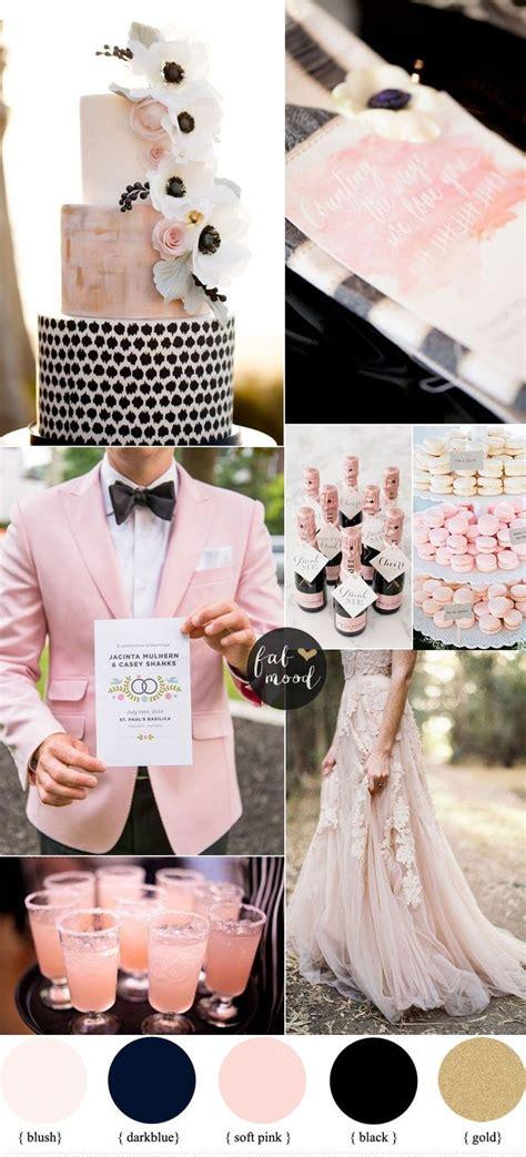 romantic color schemes 25 best ideas about pink black weddings on pinterest black weddings blush pink and black