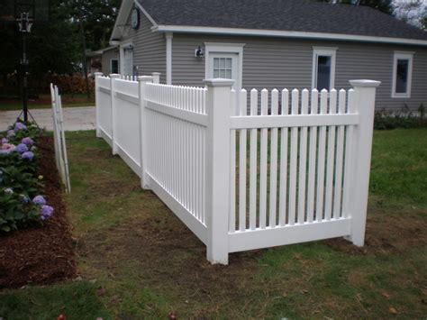 yard fence vinyl fence gallery hill fence