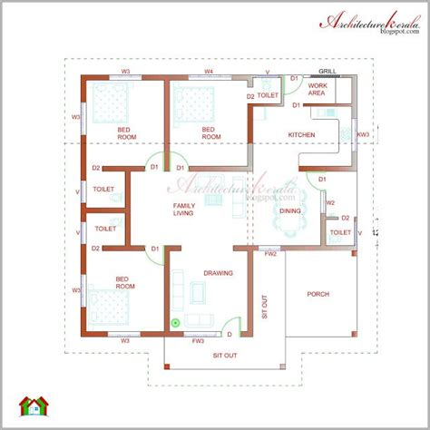 housing floor plans free 22 best images about low medium cost house designs on