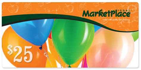Gift Card Marketplace - marketplace foods gift cards