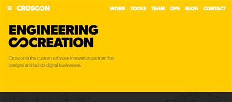 Layout Designer Online 20 vibrant yellow website designs