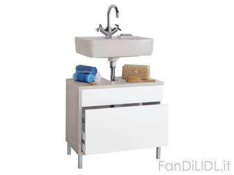 mobili sottolavello bagno mobile sottolavabo bagno accessori interno fan di lidl