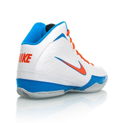 orange and white nike basketball shoes nike air handle mens basketball shoes white