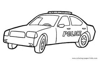 police car color page coloring sheet june 2013 pinterest