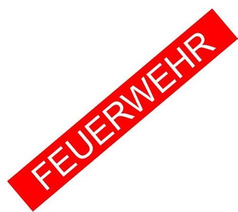 Auto Aufkleber Feuerwehr by Aufkleber Feuerwehr Feuerwehronlineshop