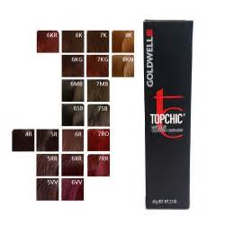 goldwell topchic permanent hair color 60ml tube shade 8a