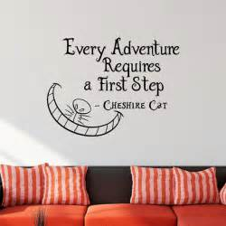 alice in wonderland wall stickers alice in wonderland wall decal cheshire cat every by