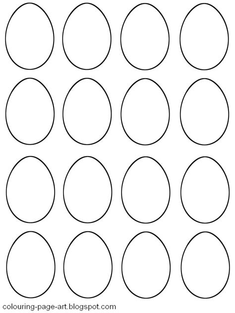 egg labels template blank easter egg templates