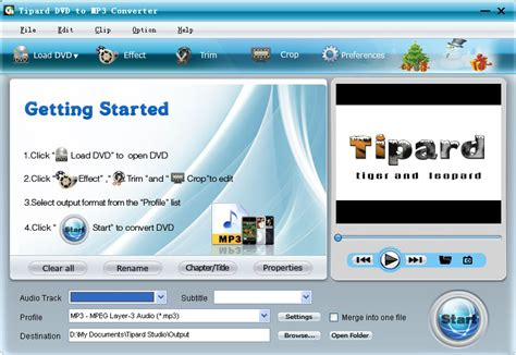 download converter mp3 to dvd download free tipard dvd to mp3 converter by tipard