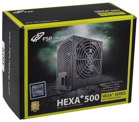 fsp europe 187 hexa 400 500w