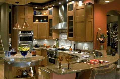 Types Of Kitchen Countertop by Kitchen Countertops Materials Designwalls