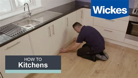 how to fit a kitchen plinth pelmet and cornice with