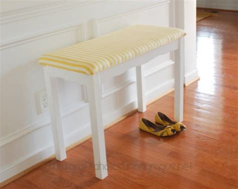 cool entryway benches 11 cool diy entry benches and footstools shelterness