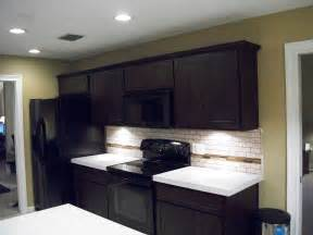 Kitchen Backsplash Ideas For Dark Cabinets kitchen stone backsplash ideas with dark cabinets fence kitchen