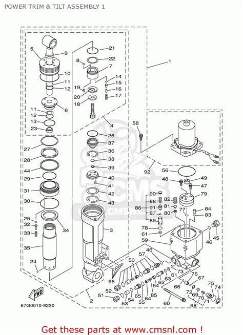 100 50 tlr yamaha outboard parts manual f25