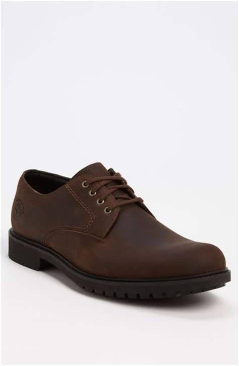 timberland shoes concourse waterproof oxfords timberland concourse buck waterproof oxford in brown for