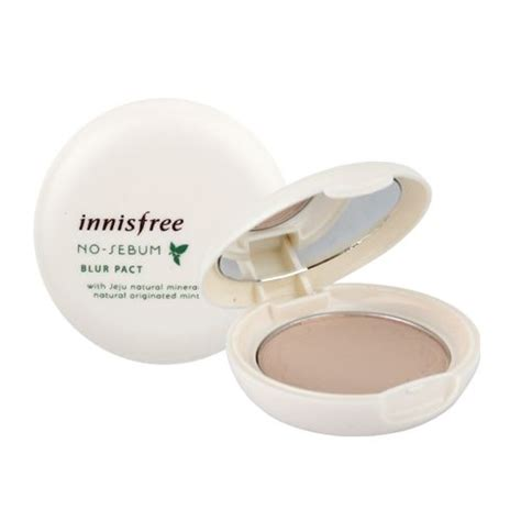 Harga Innisfree No Sebum Blur Pact innisfree no sebum blur pact reviews photo makeupalley