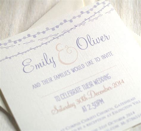 not on the high elegance wedding invitation celebrating wedding invitations by beautiful day notonthehighstreet