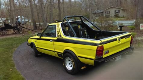 1982 subaru brat 1982 subaru brat yellow
