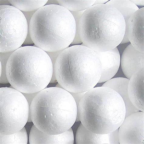 styrofoam balls 72 styrofoam balls 1 5 quot school arts crafts smooth polystyrene new walmart