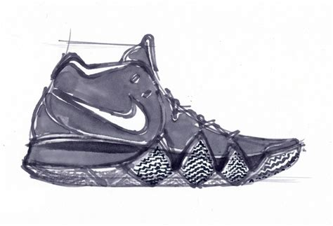 Kyrie 4 Sketches by Kyrie Irving S Designer Ben Nethongkome Discusses Kyrie 4