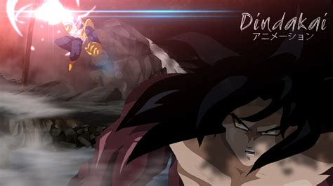 wallpaper dragon ball absalon goku vs beby by dindakai on deviantart