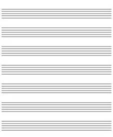 Song Template by Ipadpapers Sheet Paper Templates