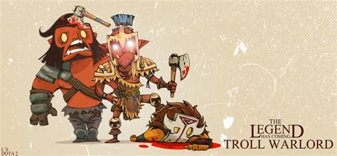 troll warlord fan art wallpapers hd  desktop