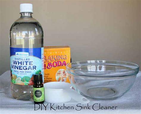 Kitchen Sink Cleaner Diy Kitchen Sink Cleaner Fabulessly Frugal
